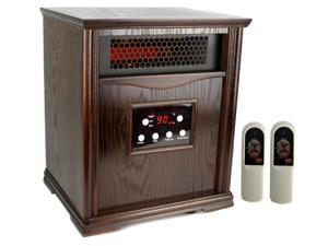 LifeSmart LS-1001HH13 1500 Sq Ft Infrared Quartz Electric Portable Heater