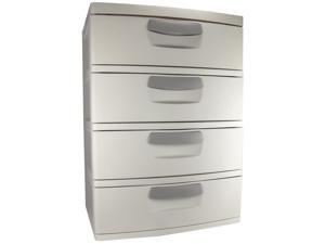 Sterilite Drawer Unit 4Drwr 2763-5226
