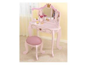 KidKraft Princess Vanity Table & Stool