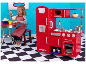 KidKraft Red Vintage Retro Kitchen