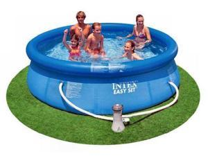 "Intex 10' x 30"" Easy Set Swimming Pool w/ 530 GPH Pump"