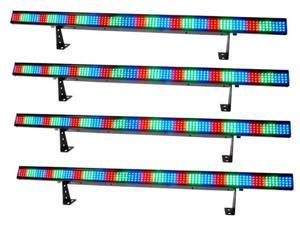 4 CHAUVET COLORSTRIP DMX LED LIGHTING COLOR STRIPS