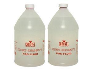 2 Gallon CHAUVET HDF High Density Fog Haze Juice Fluid