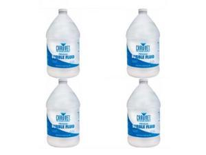 4 CHAUVET BJU GALLON BOTTLE BUBBLE JUICE FLUID BJ-U