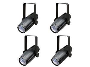 4) CHAUVET LED PINSPOT 2 Spot Light Mirror Balls