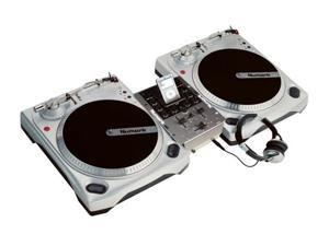 NUMARK DJ IN A BOX iPod Vinyl Turntable w/Headphones