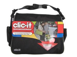 CLIC-IT Black Smart Diaper Hand Travel Bag System