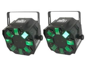 2 CHAUVET SWARM4 LED 4 CH DMX Disco Dance Effect Lights