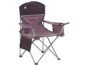 COLEMAN Camping Outdoor Oversized Quad Chair w/ Cooler