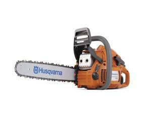 "HUSQVARNA 445 18"" 45.7cc Gas Powered Chain Saw Chainsaw - Manufacturer Refurbished"