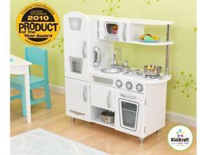 KidKraft White Vintage Kitchen Kids Pretend Play Set
