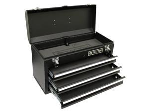 TACTIX 321102 3 Drawer Steel Portable Tool Box