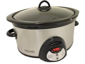 Crock-Pot SCVC651-F 6.5-Quart Oval Slow SS Cooker