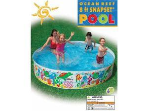 INTEX Ocean Reef Snapset Instant Kids Swimming Pool