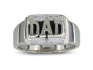 Treat Dear Old Dad To A Special Mens Diamond Ring