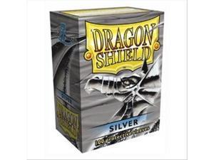 Dragon Shields: Standard Size - Silver (100)