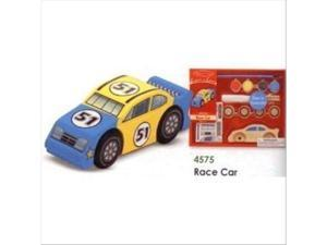 Melissa & Doug Create-A-Craft Race Car