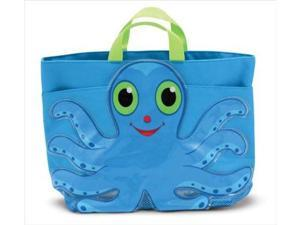 Melissa & Doug Sunny Patch Flex Octopus Beach Tote Bag