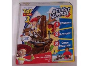 Toy Story 3 Action Links Playset - Jessie To The Rescue