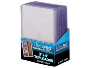 """Ultra Pro: Super Clear 3"""" x 4"""" Premium Toploaders (25)"""