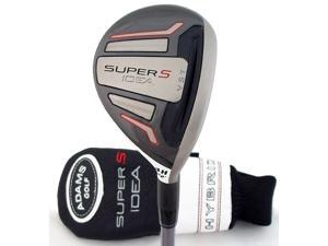 NEW Adams Idea Super S 4 Hybrid 22° Matrix Kujoh 75 Graphite Regular Shaft