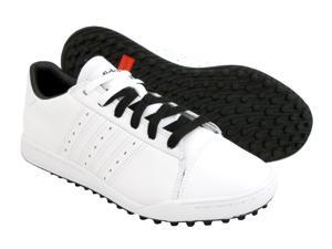 New Mens Adidas adiCROSS Street Spikeless Golf Shoes White/Black 11.5 M RET $90