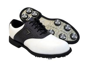 New Womens Callaway FT Chev Tour W670 Waterproof Golf Shoes White/Black 6 M