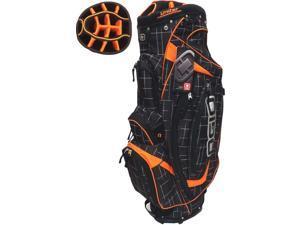 NEW Ogio Golf Shredder Cart Bag 15-way Uniter Top Griddle / Orange / Black