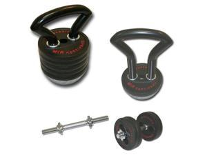 MIR® - PRO 78LBS KETTLEBELL ADJUSTABL FROM 18LBS TO 78LBS