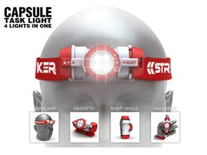 Striker Capsule Head Lamp - 4 in 1 Task Light