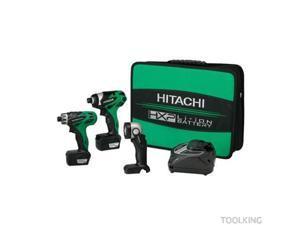Hitachi KC10DAL 10.8-Volt Cordless 3-Tool Combo Kit