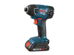 25618-02 18V Cordless Lithium-Ion 1/4 in. Impact Driver w/ SlimPack Batteries
