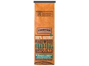 Frontier CBN09 100 Percent Natural Hardwood Charcoal Briquets - 9-Pound