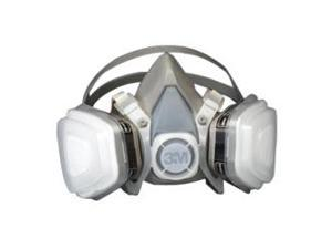 3M Dual Cartridge Paint Respirator Assembly MEDIUM Size Half Facepiece 7192
