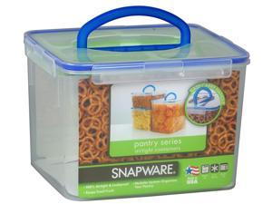 Snapware 4024 29-Cup Large Rectangle Storage Container with Handle