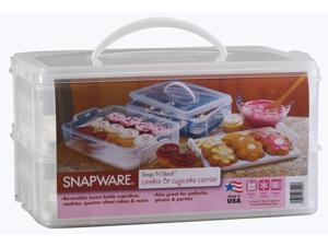 Snapware 6032 Large 2-Layer Cupcake Keeper