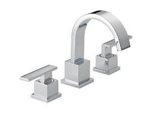 Delta 3553LF Vero Two Handle Widespread Lavatory Faucet, Chrome