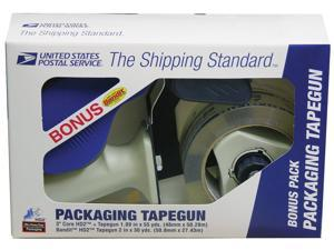 Lepages 82227 Clear Packaging Tape with Tape Gun