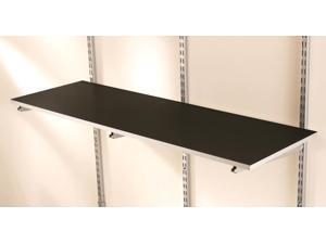 Rubbermaid FG5E22FTCSLRK FastTrack 4-Foot Multi-Purpose Shelf