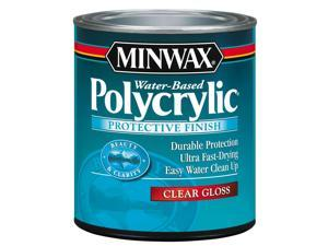 Minwax 25555 1/2 Pint Gloss Polycrylic Protective Finishes