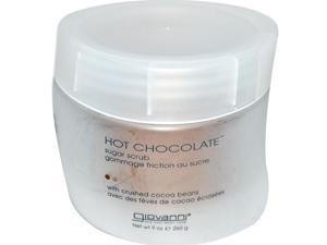 Hot Chocolate Sugar Scrub - Giovanni - 9 oz - Salt