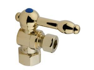 Kingston Brass CC43102KL 1/2 IPS 3/8 O.D. Compression Angle Shut-off Valve Polis