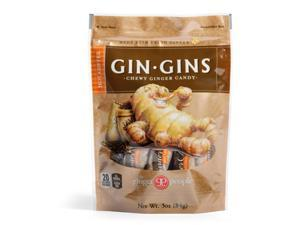 Ginger People Gingins Chewy Hot Coffee Bags Case of 24 3 oz