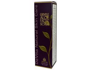Devita Gentle Aloe Facial Scrub, Exfoliate, 7-Ounces