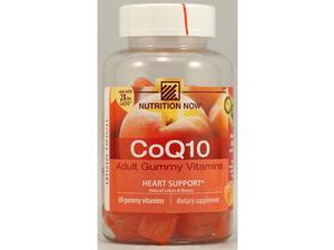 CoQ10 Adult Gummy Vitamins - Nutrition Now - 60 - Gummy