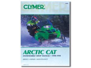 Clymer S836 Service Manual Arctic Cat (90-98)