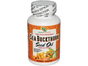 Sea Buckthorn Seed Oil, Made with Organic Sea Buckthorn, 60-Softgels