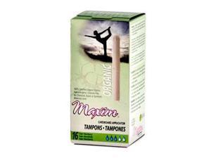 Organic Cotton Cardboard Applicator Tampons Super - 16 - Tampon