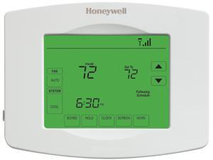 Honeywell RTH8580WF1007/W Touchscreen Programmable Wi-Fi Thermostat, White
