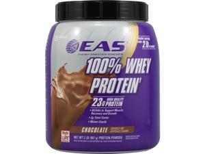EAS - 100% Whey Protein Chocolate, 2 lb powder